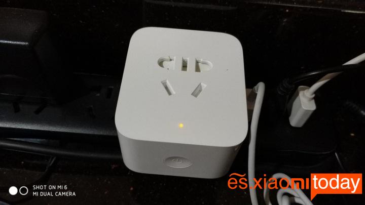 Xiaomi mijia Smart socket sincronización modo de espera