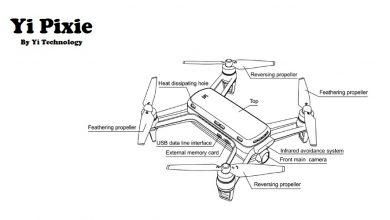 nuevo dron de Yi Technology se llamará Yi Pixie 4K