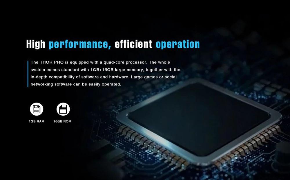 Zeblaze Thor Pro hardware