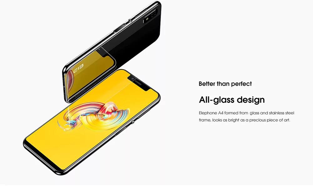 Elephone A4 - Diseño