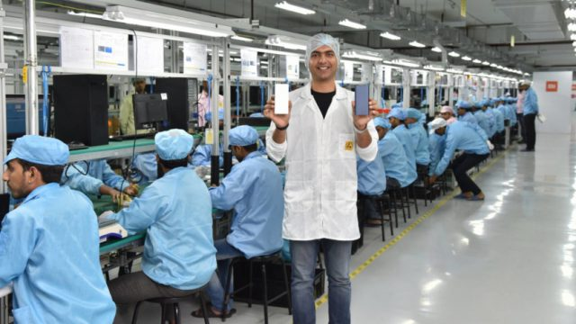 Nuevas fábricas de Xiaomi en la India