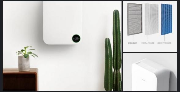 Purificador de aire Xiaomi Zhimi filtros