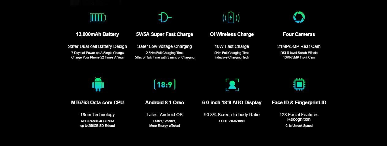 Ulefone Power 5 - Especificaciones