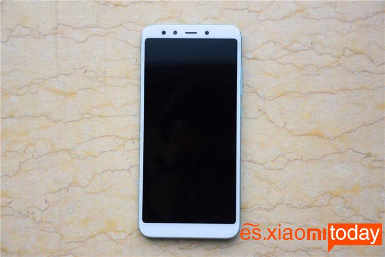 Xiaomi Mi 6X pantalla