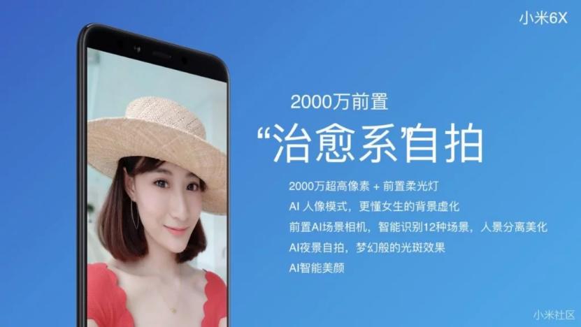 Pantalla del Xiaomi Mi 6X