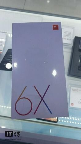Caja del Xiaomi Mi 6X