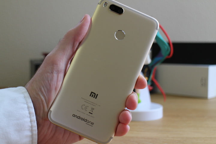 El Xiaomi Mi A1 descontinuado en la India