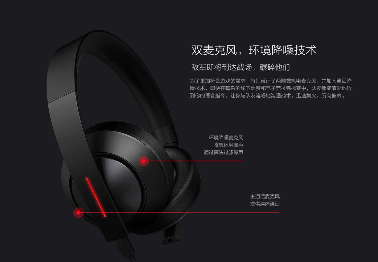 Los Xiaomi Gaming Headset serán lanzados el 27 de abril a solo $55