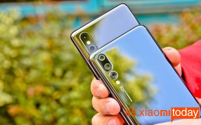 Xiaomi Mi MIX 2S Vs Huawei P20 Pro: dimensiones