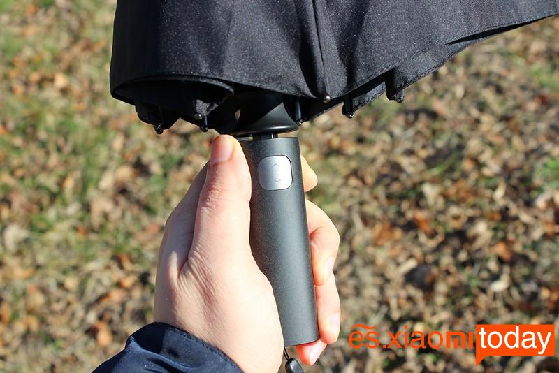 Xiaomi Mijia Automatic Umbrella Análisis mango