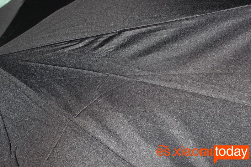 Xiaomi Mijia Automatic Umbrella Análisis materiales de construcción