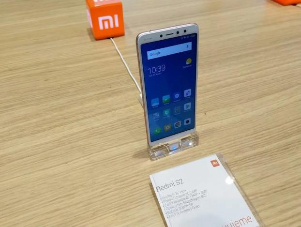 Xiaomi Redmi S2 en exhibición