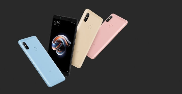 Xiaomi Redmi Note 5 China y Redmi Note 5 Pro India