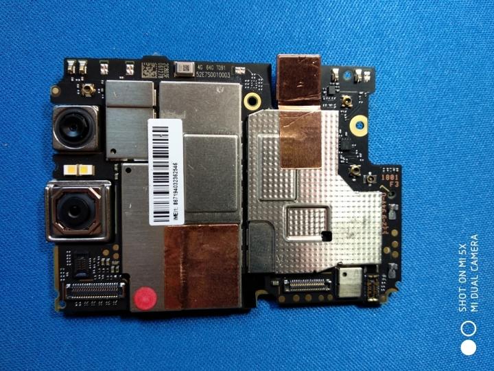 XiaomiRedmiNote 5Pro - Escudo metálico frontal