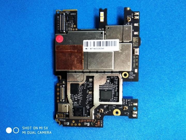 XiaomiRedmiNote 5Pro - Memoria RAM parte trasera