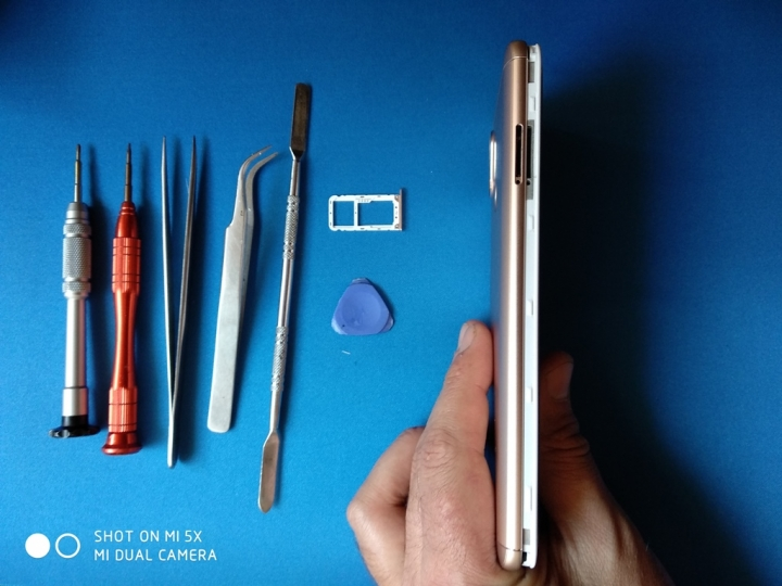 XiaomiRedmiNote 5Pro - Desmontaje lateral