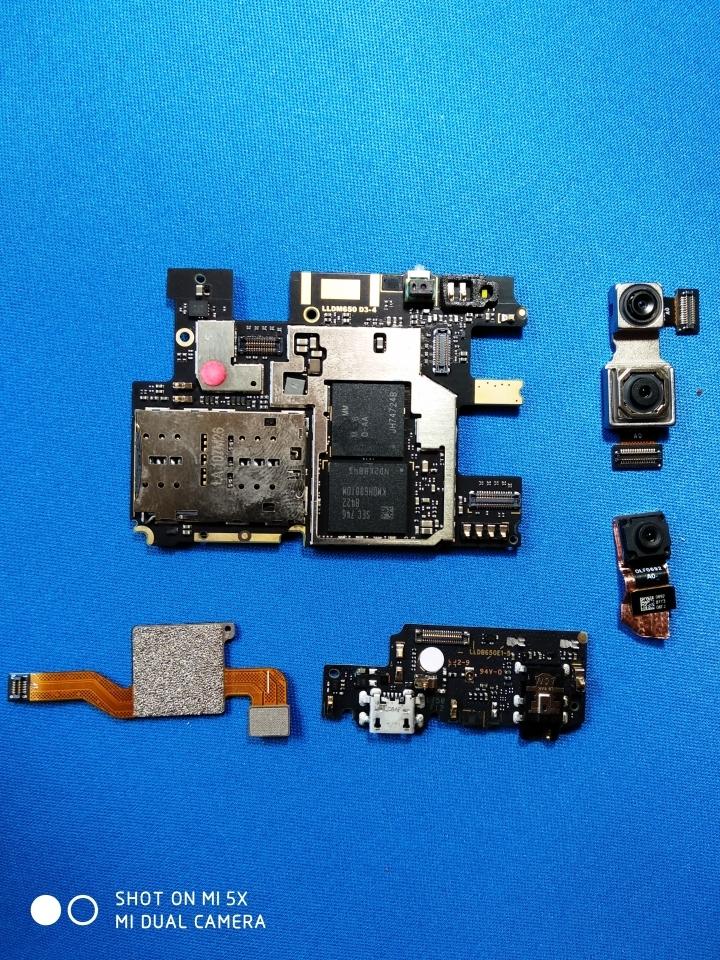 XiaomiRedmiNote 5Pro - Interno