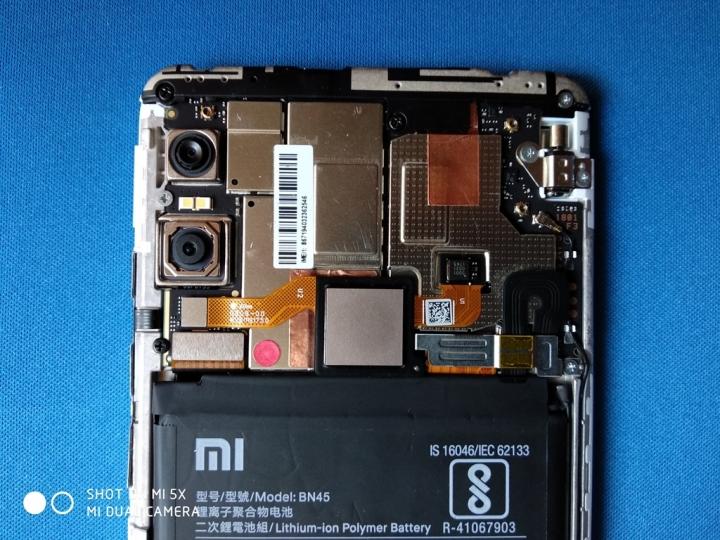 XiaomiRedmiNote 5Pro - Placa base