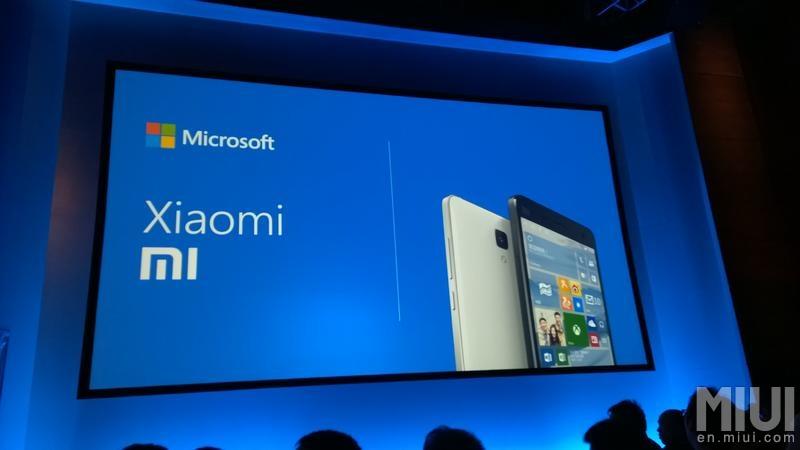 Xiaomi y Microsoft