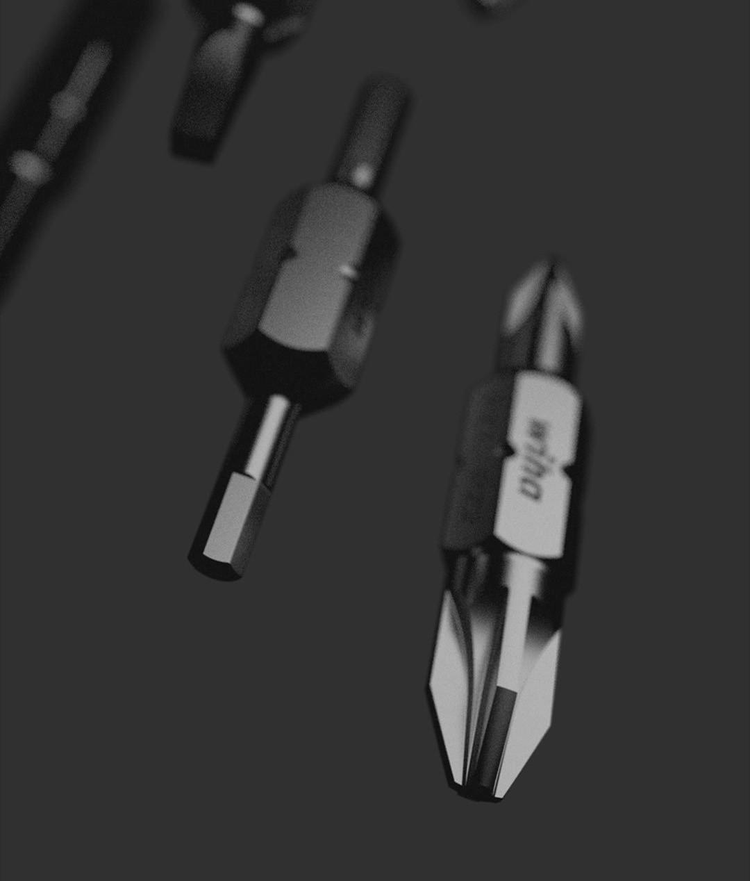 Xiaomi Wiha 26 in 1 - Materiales y construcción