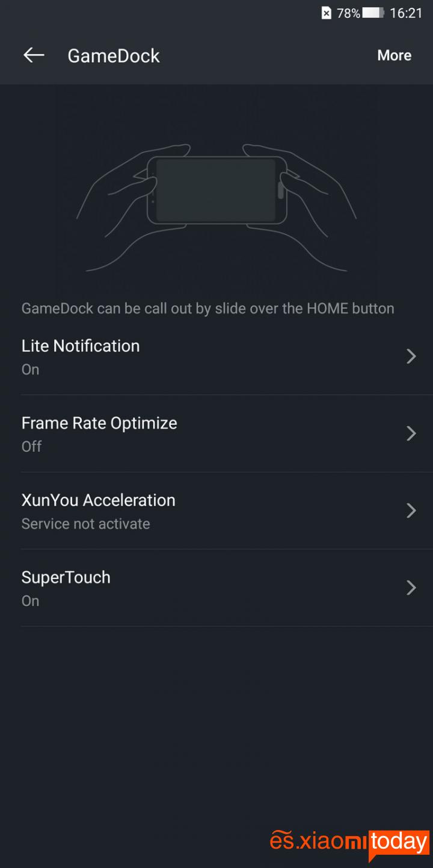 Xiaomi BlackShark Análisis