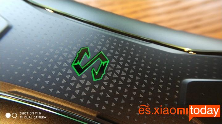 Xiaomi BlackShark Análisis - Diseño