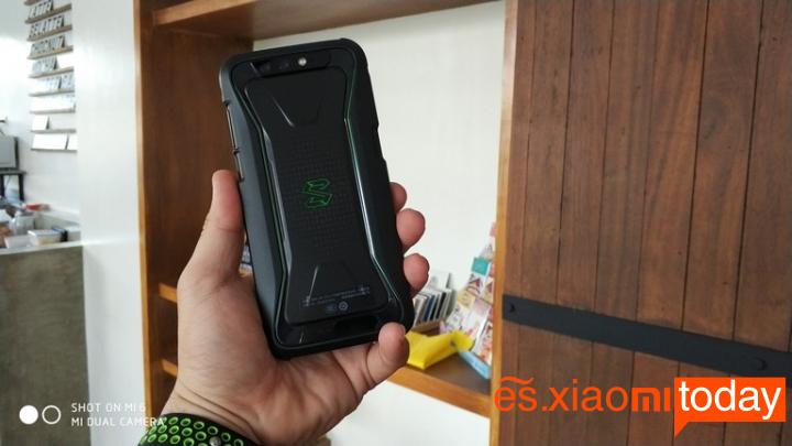 Xiaomi BlackShark Análisis - Detalles de Diseño