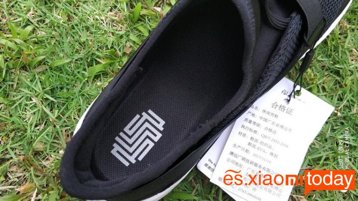 Xiaomi Mi GTS Sneakers Análisis - Diseño y construcción
