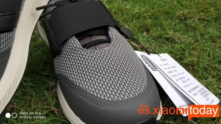 XiaoXiaomi Mi GTS Sneakers Análisis - Diseño y construcción