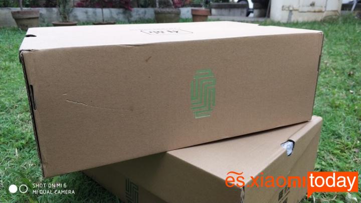 Xiaomi Mi GTS Sneakers Análisis - Paquete