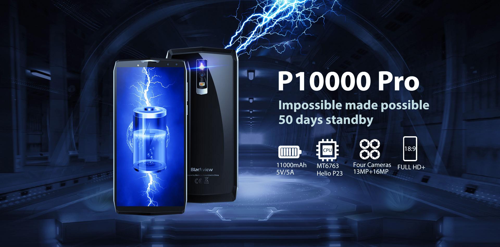 Blackview P10000 Pro - Smartphone con batería titánica