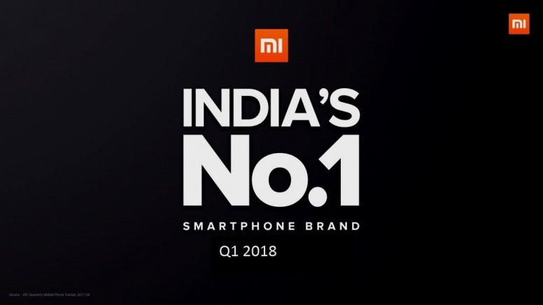 Xiaomi continúa liderando el mercado de smartphones de India según Counterpoint