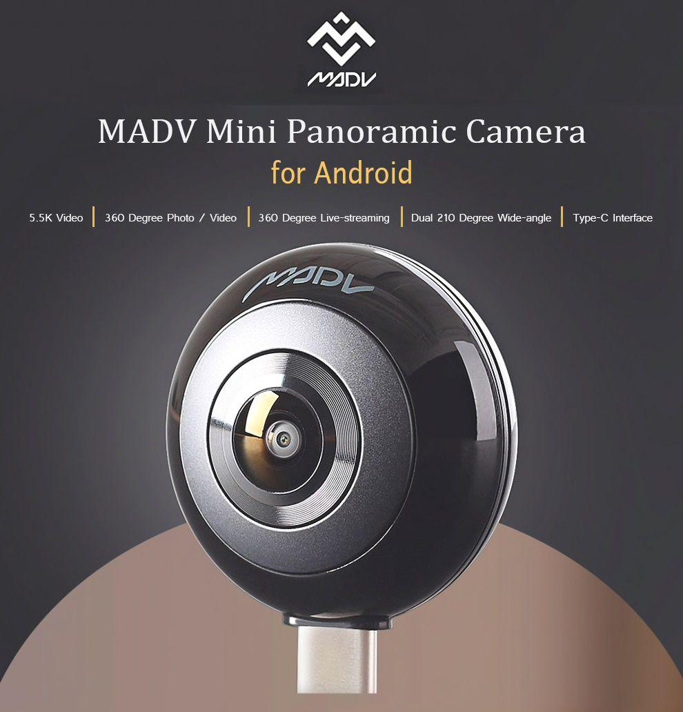 MADV mini cámara panorámica