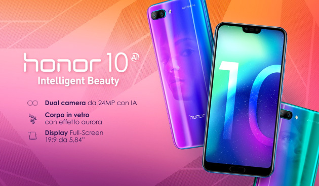 Huawei Honor 10 - Especificaciones