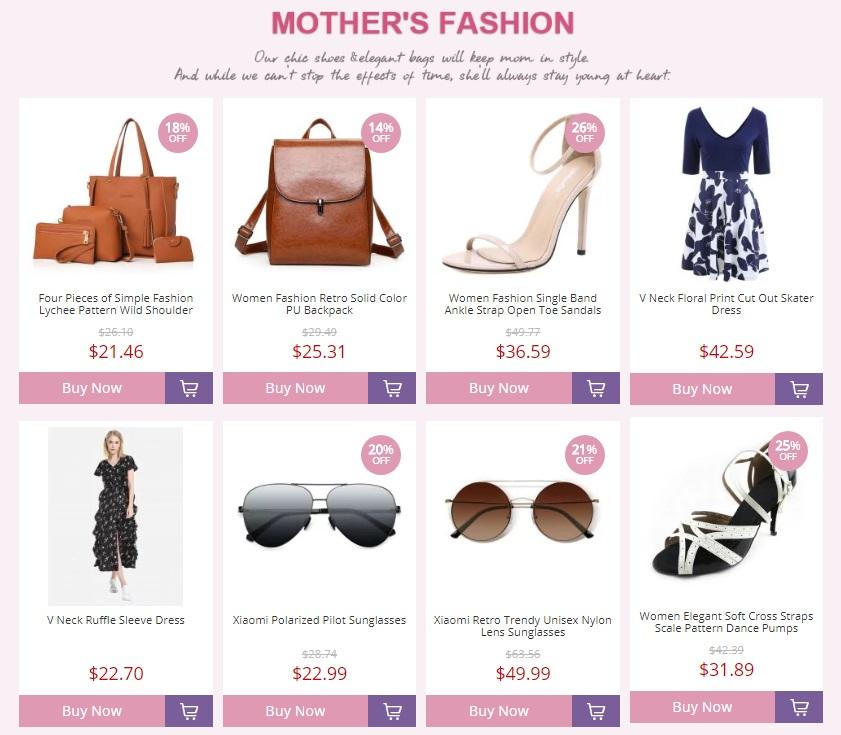 EsEspecial día de las madres en Gearbest - Moda y estilo