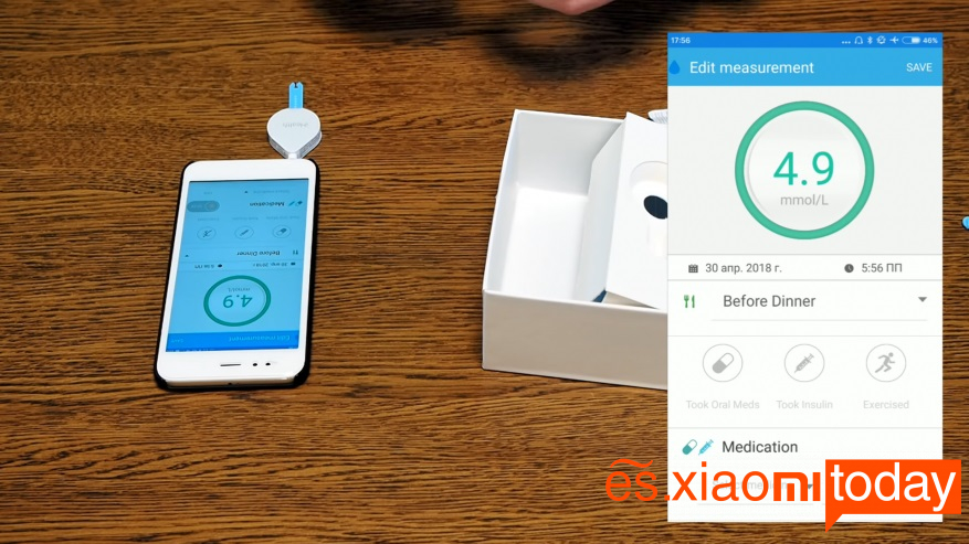 Xiaomi iHealth Smart Gluose Meter Análisis - Uso