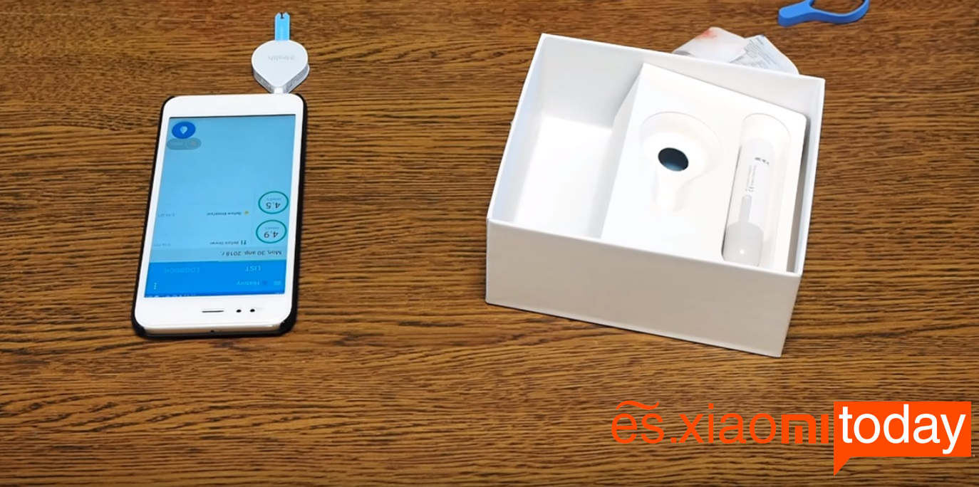 Xiaomi iHealth Smart Glucose Meter Análisis - Otros parámetros