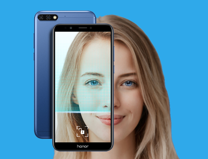Huawei honor 7C - Frontal