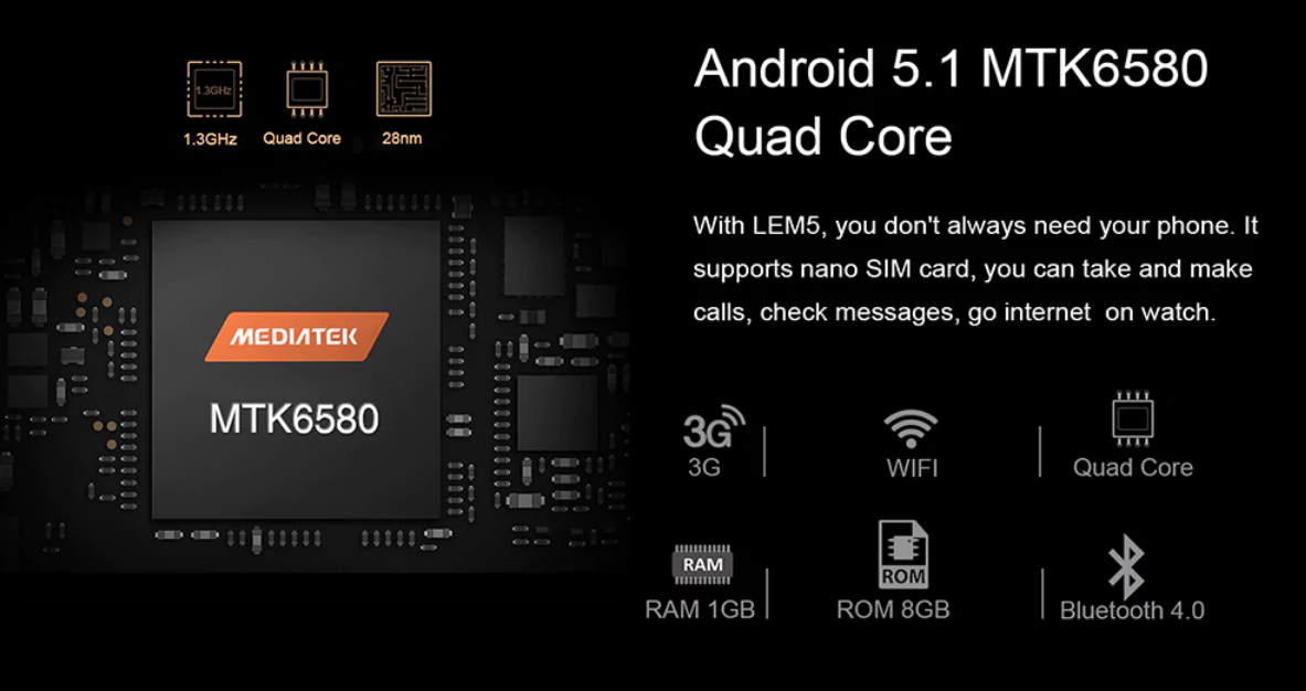 LEMFO LEM5 Hardware