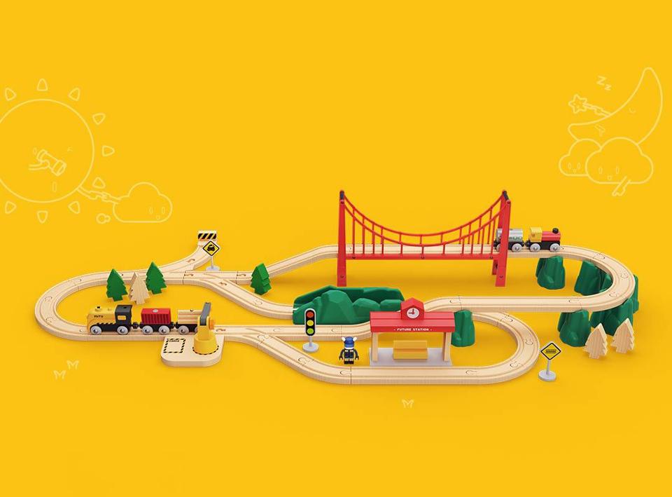 Xiaomi Mitu Track Building Block Análisis - Juguete para construir vías férreas