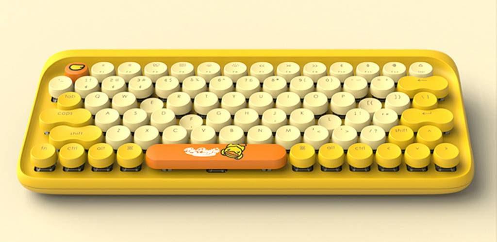 Xiaomi y B.Duck se unen para traernos un hermoso teclado mecánico para niños