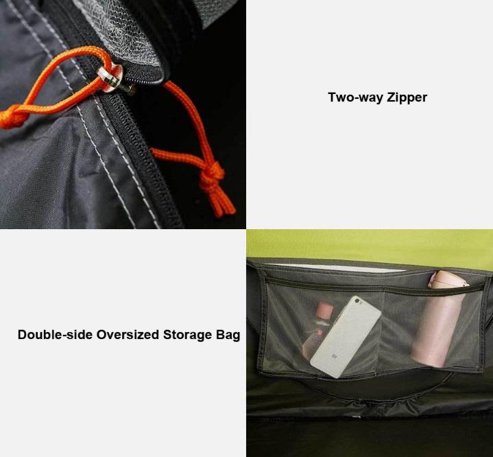 Xiaomi ZaoFeng Camping Tent - Otras características