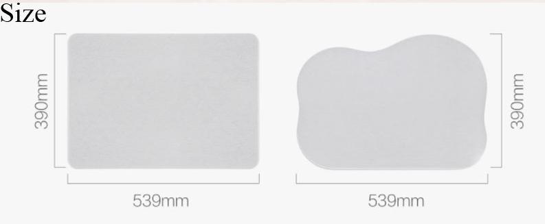 Xiaomi Bathroom Carpet Medidas