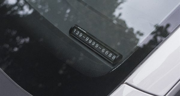 Xiaomi Car Temporary Stop Sign