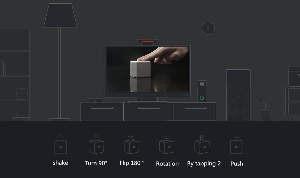 Xiaomi Mi Magic cube funcionamiento