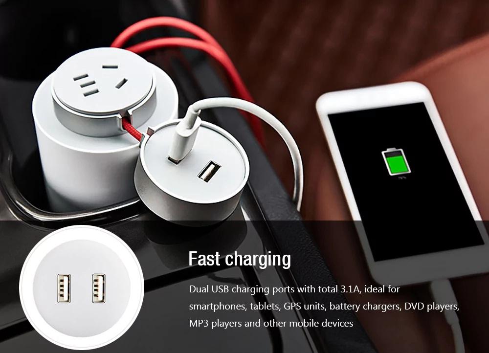 Xiaomi Mijia Car Power Inverter diseño