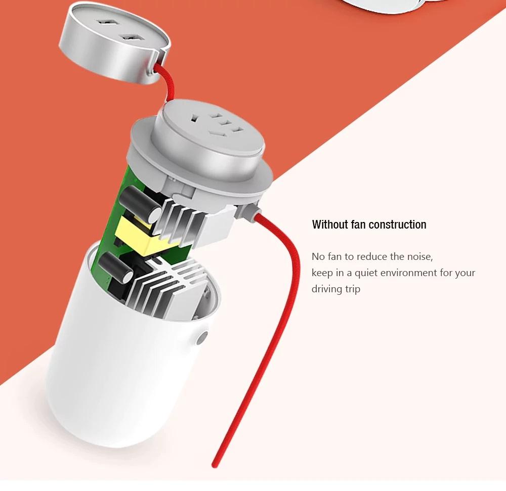 Xiaomi Mijia Car Power Inverter introducción