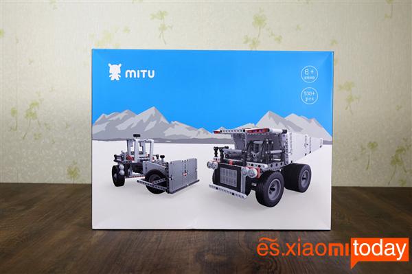 Xiaomi Mitu Block Mining Truck Análisis - Unboxing
