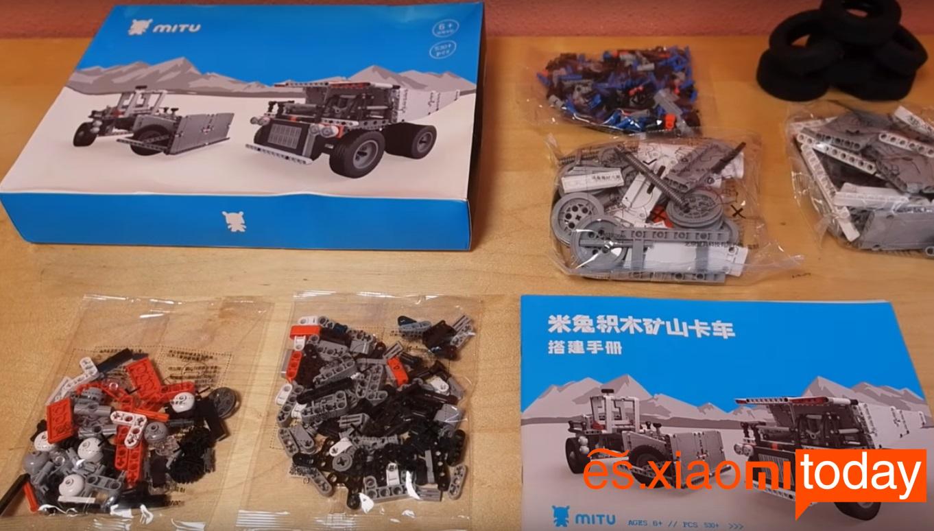 Xiaomi Mitu Block Mining Truck Análisis - Especificaciones