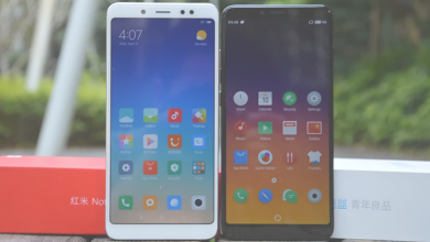 Xiaomi Redmi Note 5 versión China vs Meizu E3 Pantallas